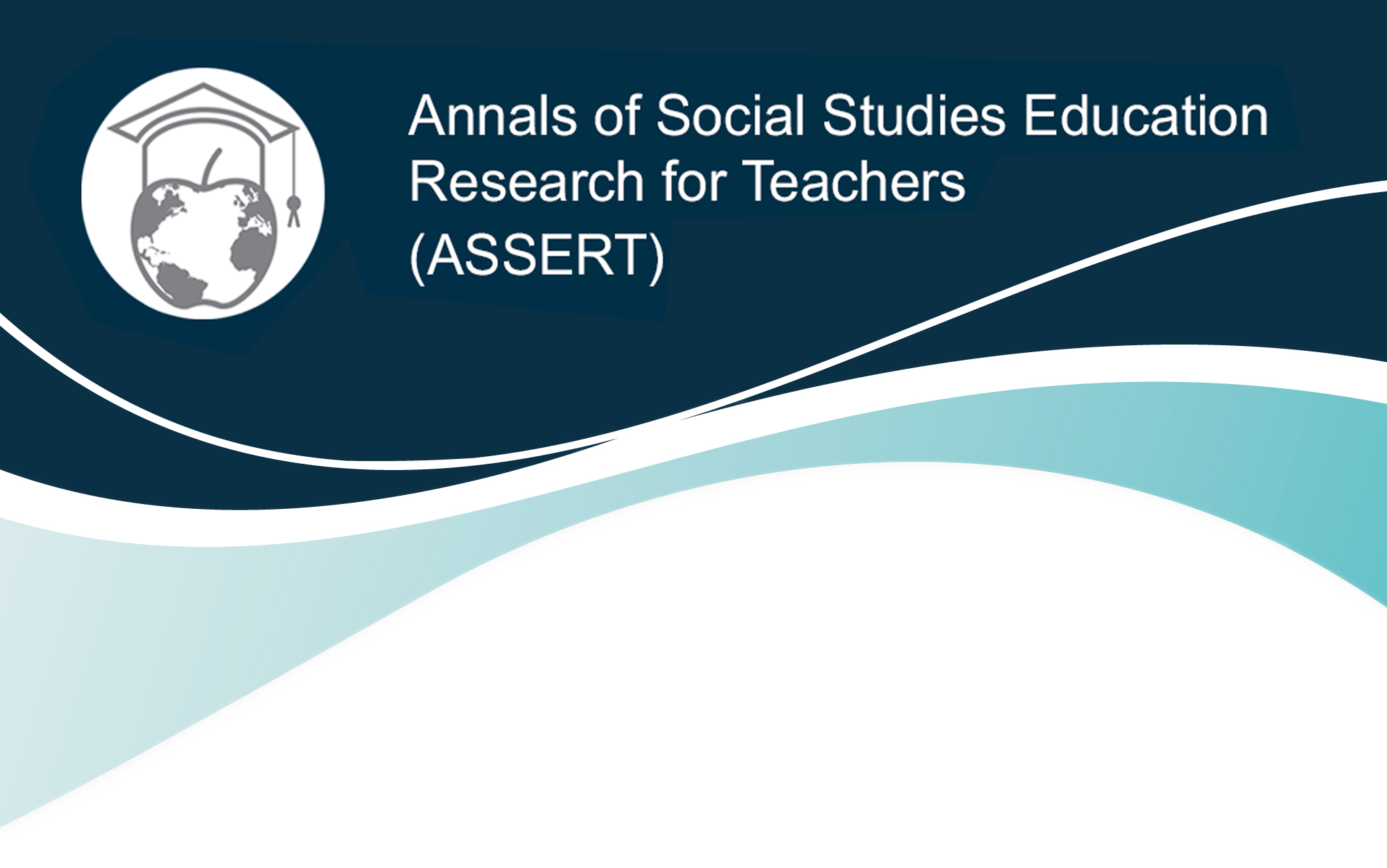 Annals of Social Studies Education Research for Teachers ASSERT